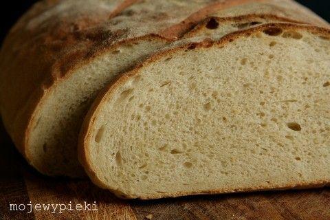 Moje Wypieki | Prosty chleb pszenny