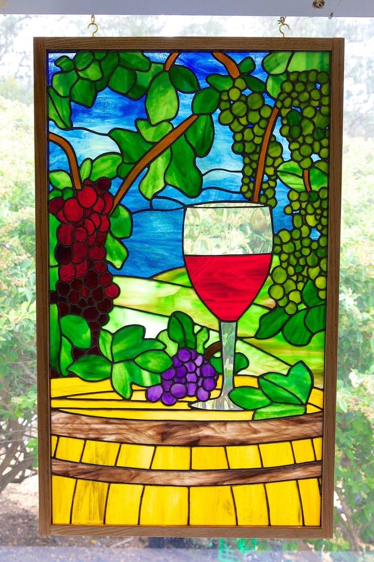 Not a wine drinker, but I like the colors.