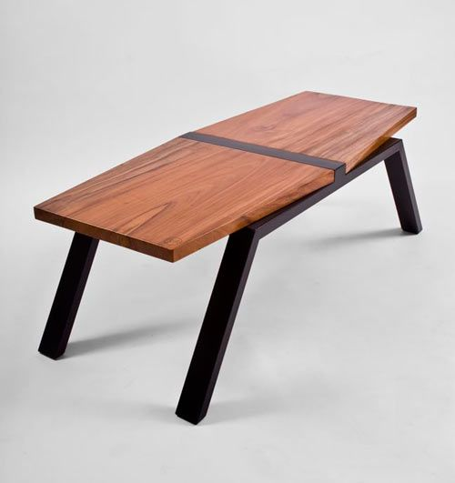 Isósceles Is A Coffee Table But Larger In Size Than The Nostalgia One. The  Wooden Tabletop Is Angled Making It A Nice Departure From Your Average ...