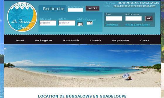 La berceuse créole - Location de Bungalows en Guadeloupe     - Sainte-Anne, Guadeloupe, Départements et Territoires d'Outre Mer