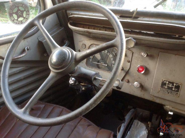Interior Citro N H Traction Avant 1956 Car Pinterest Cars Vans Vintage