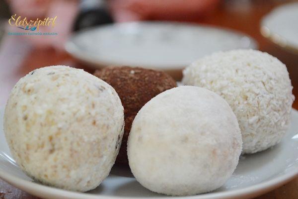 Zabpelyhes túrógombóc – sütés-főzés nélkül, villámgyorsan elkészíthető