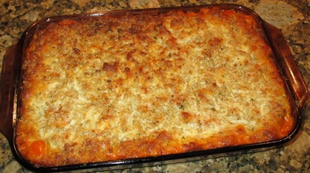 Olive Garden Five-Cheese Ziti Al Forno.    This is the base for the 5 Cheese Penne that I make.  Super nommy!