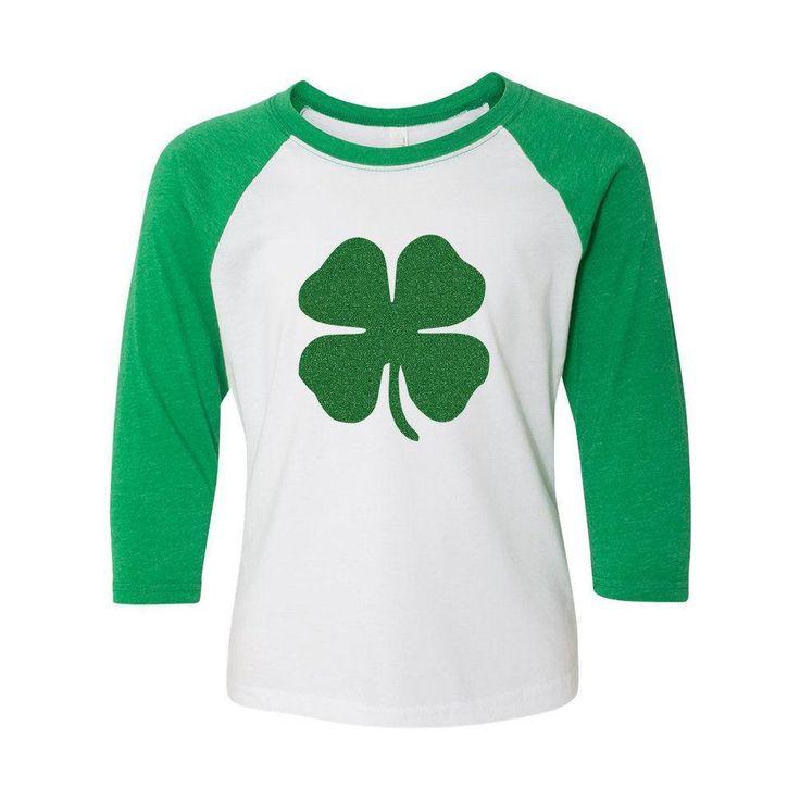 Kids Shamrock St Patrick's Day Shirt