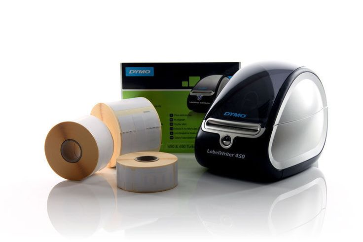DYMO LabelWriter 450 Thermal Label Printer + 3 Label Rolls - BRAND NEW