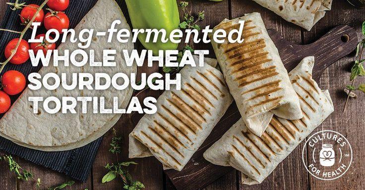 Long-Fermented Whole Wheat Sourdough Tortillas