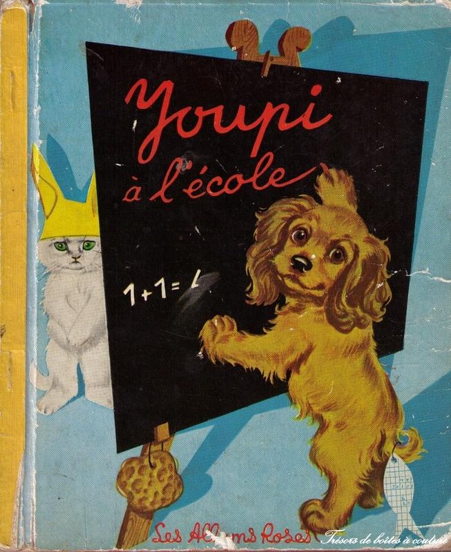 Illustration Pierre Probst. Youpi à l'école. Le petit monde de Caroline...