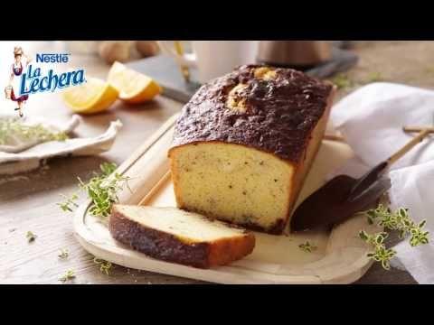 Plum Cake de naranja y leche condensada - Postres La Lechera - YouTube
