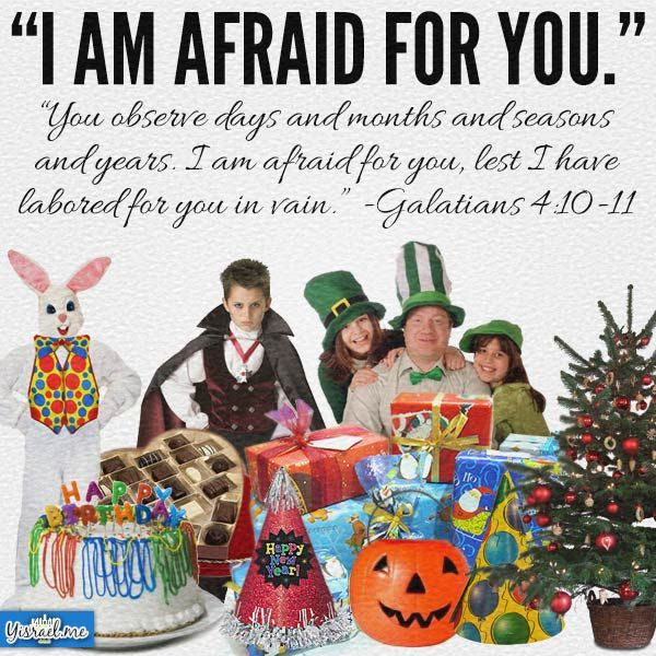 What are the origins of the holidays you celebrate?  If you think it doesn't matter to God because the kiddos enjoy it so much, think again.  STUDY. #Christmas #Easter #Halloween