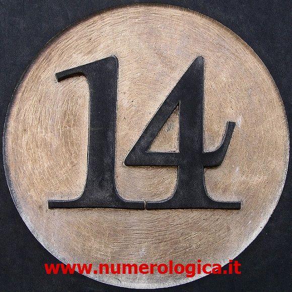 Il significato del Numero 14, numero Lunare e Karmico