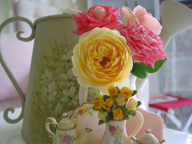 cuteTeas Time, Beautiful Roses, Colors, Cut Gardens, Beautiful Floral, Flower Wallpapers, Sweets Peas, Sweet Peas, Hydrangeas