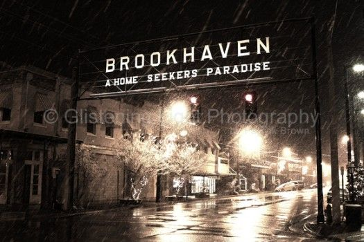 Brookhaven, Mississippi ~ A Home Seeker's Paradise .... Would love this picture for my office !