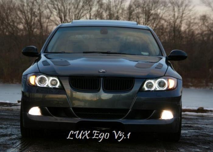 Bmw E90 Lux V6 Angel Eyes Upgrade Bmw Xenon
