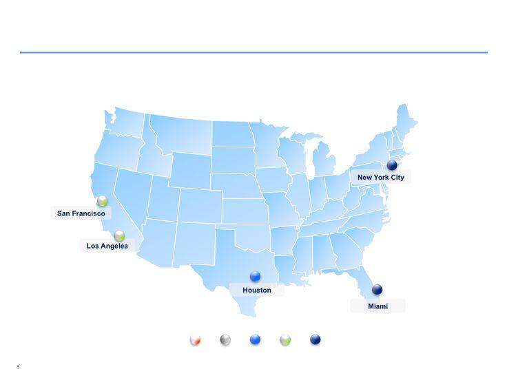 Descarga ahora Mapas de Estados Unido editables en Power Point