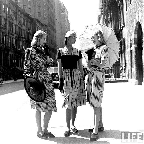 1940s Fashion. Idk, just cute .lol
