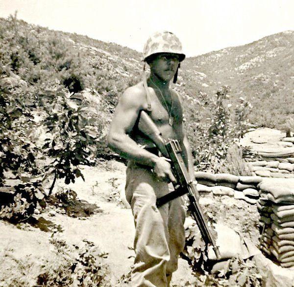 Sergeant in Korea 1951. Colonel USMC Ret.