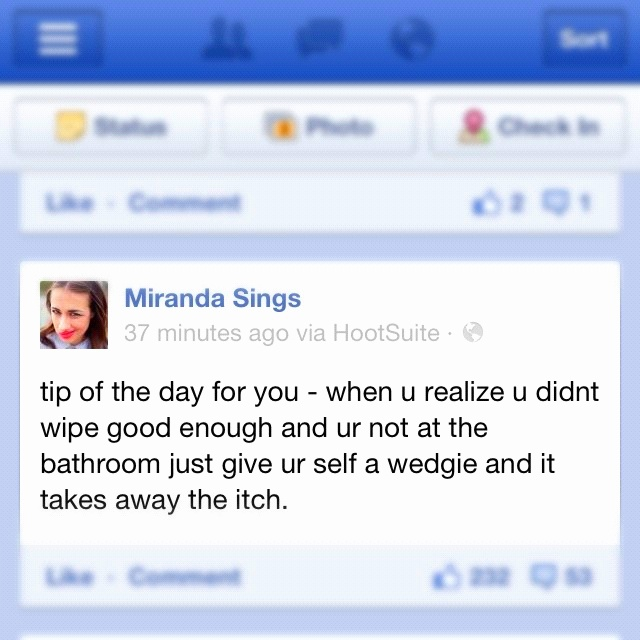 Hahaha I love Miranda Sings!