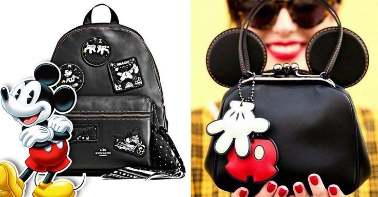 La marca de lujo estadounidense, COACH, colaboró de nuevo con Disney para una linea de accesorios y bolsos pero esta vez con precios accesibles para tu economía
