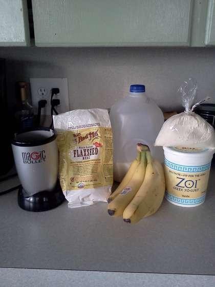 Morning protein shake