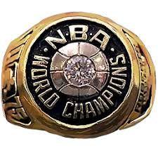 Rick Barry's 1975 Golden St.Warriors Championship Ring