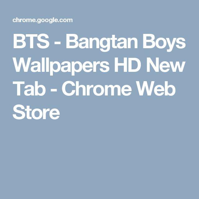 BTS - Bangtan Boys Wallpapers HD New Tab - Chrome Web Store