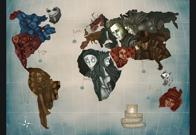 Lo strano mondo di Tim Burton