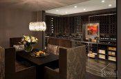 (93) Custom Wine Cellar - Stained Maple (SL)