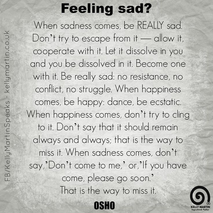 Love Quotes Osho: Feeling Sad? #quote #depression #wisdom #Osho