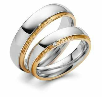 One of the ways to engrave your wedding ring