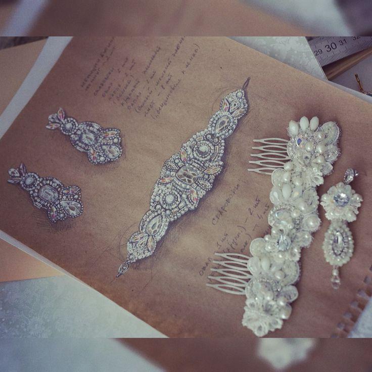 Ekaterina Semiletova jewelry desigh