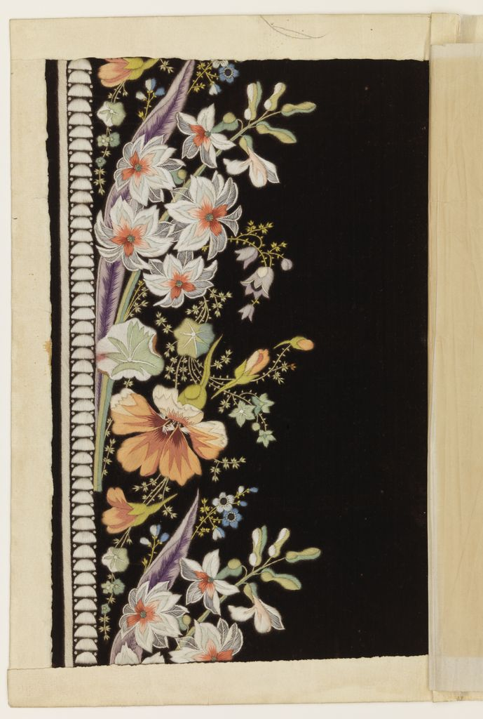 Embroidery Sample, ca. 1770