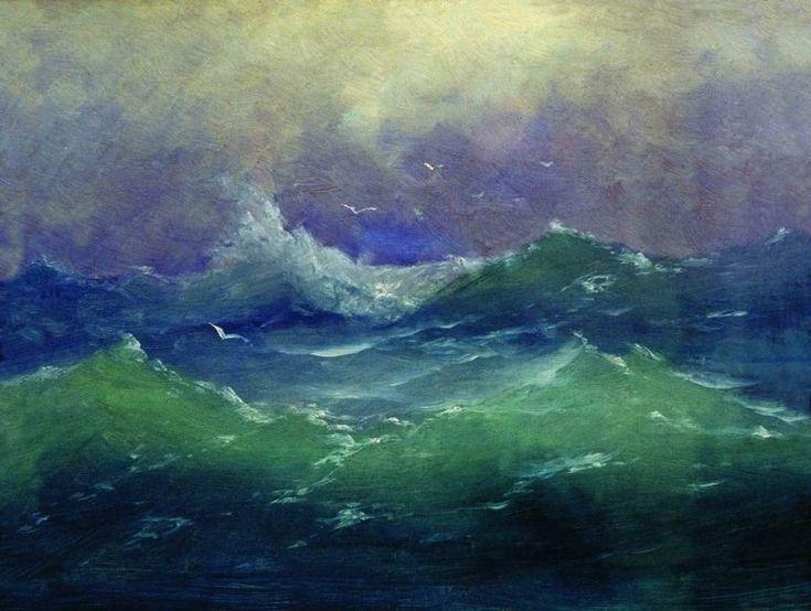 Arkhip Ivanovich Kuindzhi. Wave. Архип Иванович Куинджи. Волны