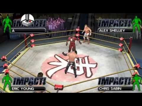 TNA IMPACT: Suicide & Eric Young vs. Alex Shellby & Chris Sabin