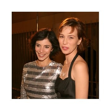 Ariadna Gil and Maribel Verdú at event of Pan's Labyrinth