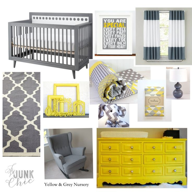Modern Yellow And Grey Nursery It 39 S A Girl Tia 39 S Baby