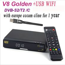 2016 Smart TV Box V8 Golden COMBO Satellite Receiver +USB WiFi with1 year cccam server DVB-S2 &DVB-T2 TV Tuner     Tag a friend who would love this!     FREE Shipping Worldwide     #ElectronicsStore     Buy one here---> http://www.alielectronicsstore.com/products/2016-smart-tv-box-v8-golden-combo-satellite-receiver-usb-wifi-with1-year-cccam-server-dvb-s2-dvb-t2-tv-tuner/