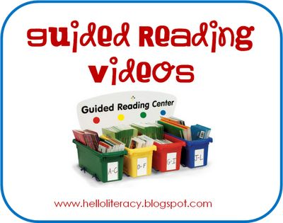 Link to full length guided reading videos (first grade) but could be adapted to K and 2nd