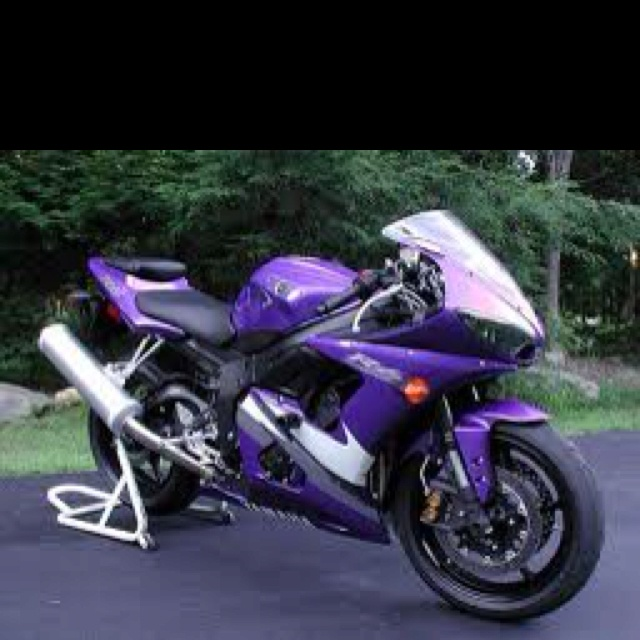 Purple Yamaha r6