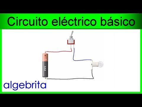 Circuito eléctrico básico con interruptor Electricidad 224