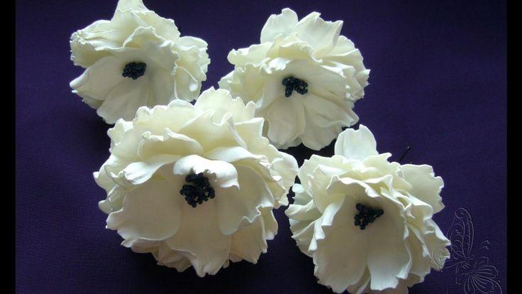 МК очень простого цветка из фоамирана