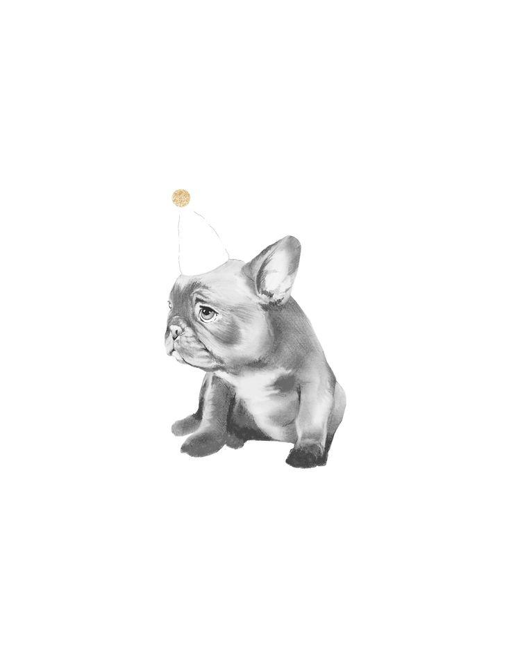 Dog Party {illustration by Hilary Dempsey}