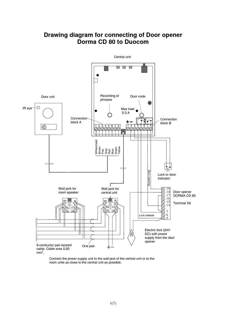 Pin On Wiring Cable, Garage Opener Wiring Diagram
