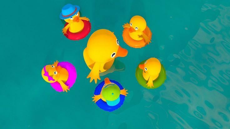 Five Little Ducks - Still from video by #HuggyBoBo  Watch on YouTube https://youtu.be/zNrdhSu0cWs