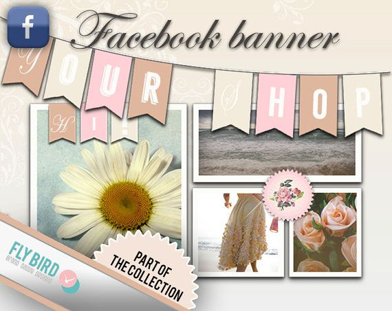 Facebook Banner and Profile Photo set Sunny by FlyBirdBranding, €10.00