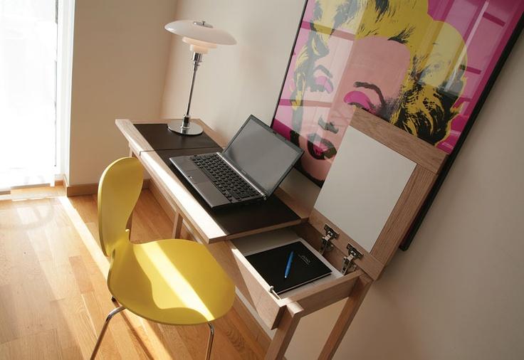 Compact living desk  Olof800-4