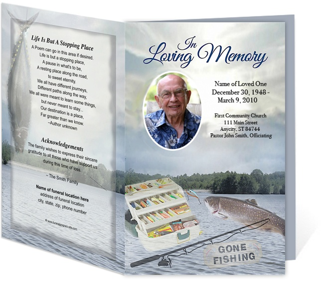 214 best Creative Memorials with Funeral Program Templates images - funeral program template microsoft