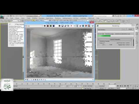 How to light an interior with 3ds max and vray. 3ds max tutorials by omer kako (with voice)