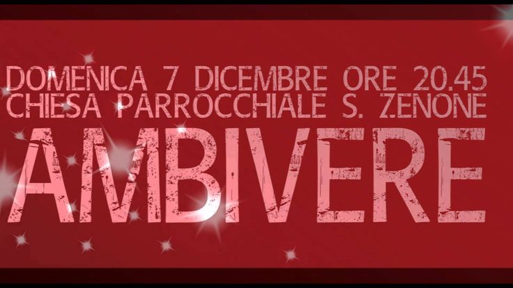 """CHRISTMAS CONCERT"", 7 DICEMBRE '14, AMBIVERE (BG)"