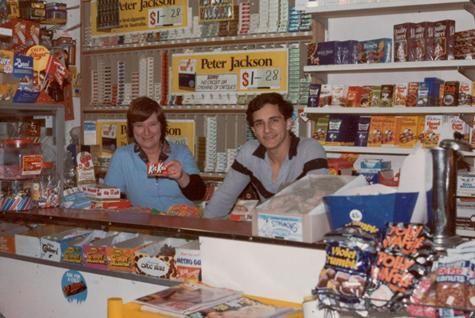 Continental Milk Bar, Preston West, 1982.