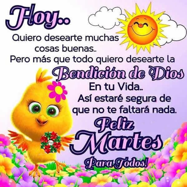 Fotos De Martes Con Frases Bonitas | Musicadelrecuerdo.org